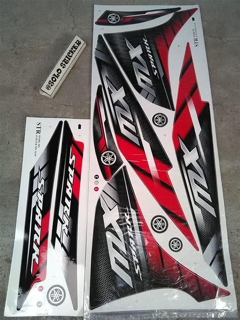 jual striping stiker lis variasi motor yamaha jupiter mx new njmx spark 2 di lapak sticker