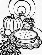 Coloring Thanksgiving Dessert Sheets Printable Paw Patrol K5worksheets sketch template