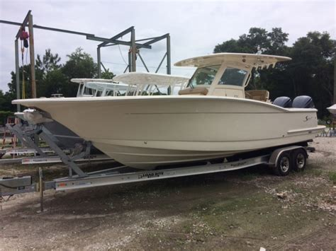 Boat Motors Wilmington by 2017 Scout 300 30 Foot White 2017 Scout Motor Boat In