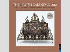The Jewish Calendar 2018 5778 Judaicacom