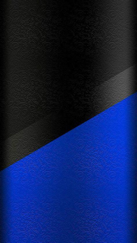 dark  edge wallpaper  black  blue floral pattern