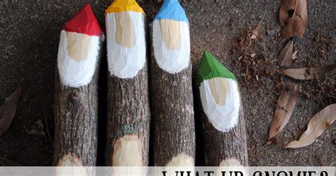 swallows heart diy gnome garden markers