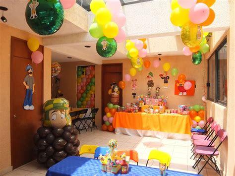 decoraci 243 n tem 225 tica chavo ocho globos centros de mesa y mesa de dulces decoraciones