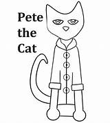 Pete Cat Coloring Pages Printable Little Craft Clip Momjunction Clipart Line Ones sketch template