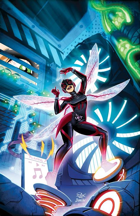 wasp unstoppable marvel nadia van dyne comics elsa comic charretier vol pym textless comments wiki whatchareading ac