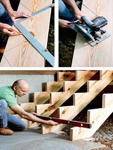 comment faire un escalier comment construire un escalier bricobistro