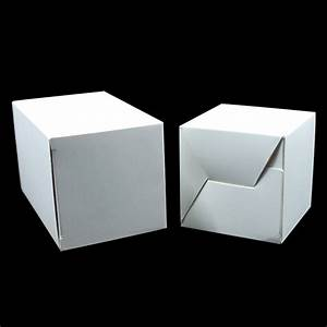 Dhl 10 10 10cm 100pcs   Lot White Event Cardboard Folding Paper Packaging Box Pack Little Eraser