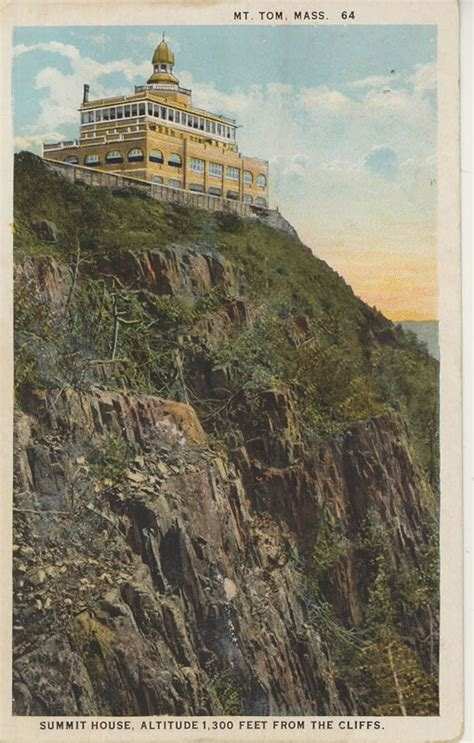 postcard collection mountain park mount tom page