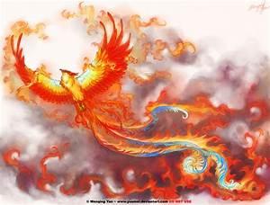 Phoenix tattoo commission by yuumei on DeviantArt