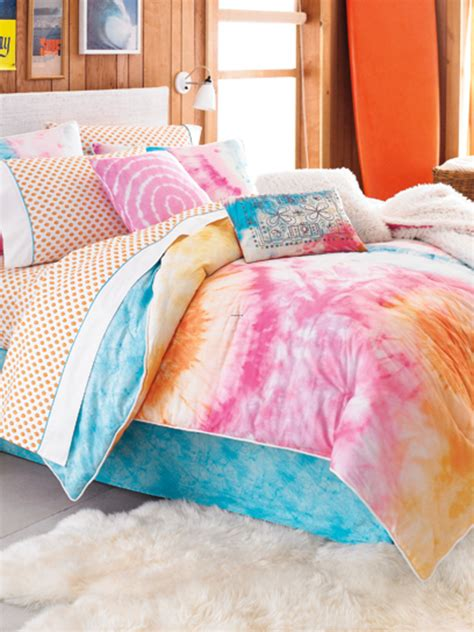 teen comforter set teen vogue bedding adds tons of personality and color to