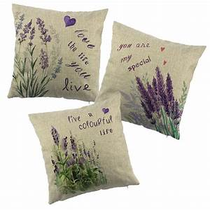lavender printed cushion cover for chair purple flower With chair cushion covers online