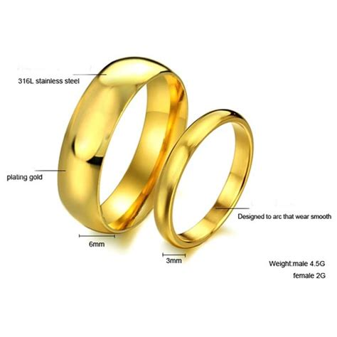 valentines stainless steel plain buy valentines stainless steel plain wedding rings