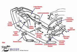 1969 Corvette Front Bumper Parts