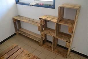 fabriquer meuble tele avec palettes fabriquer ses meubles en palettes c 233 cile et en guyane