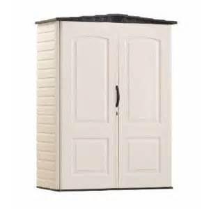 rubbermaid 3746 vertical storage shed 52 cubic ft 424 00