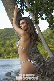 Emily Ratajkowski Body Paint Swimsuit