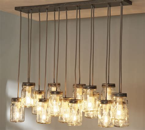 kitchen island pendant light fixtures 18 diy jar chandelier ideas guide patterns