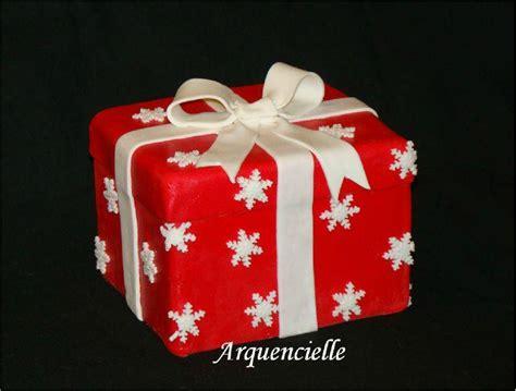 recette gateau  en forme de cadeau de noel