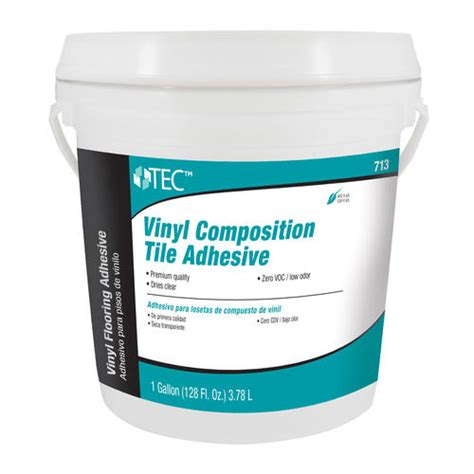 Menards Carpet Tile Adhesive by Tec 174 Vinyl Composition Tile Adhesive 1 Gal At Menards 174