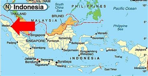 medan indonesia map