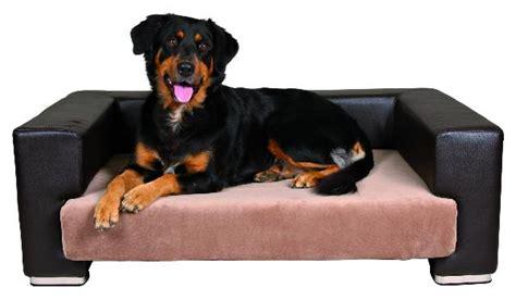 canapé pour grand chien canape de luxe quot paolo quot brun creme panier lit couchage