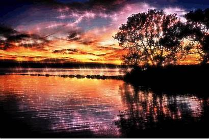 Scenery Nature Giphy Natural Gifs Sunset