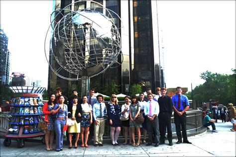 business journalism trip   york helps students