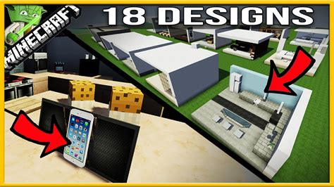 minecraft kitchen designs 18 minecraft modern kitchen designs 4131