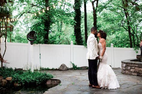 Vintage Gatsby Glamour Spring garden wedding Garden