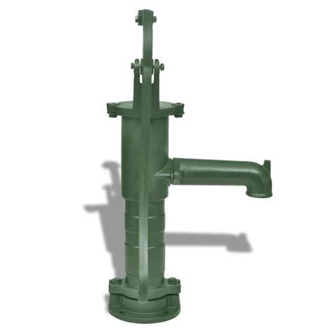 Cast Iron Garden Hand Water Pump | vidaXL.com.au