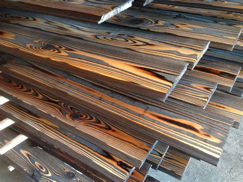 japanese burnt wood yakisugi shou sugi ban charred