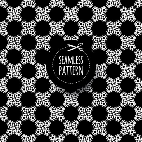 Abstract Shapes Black by Black Abstract Shapes Pattern Vector Free
