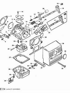 Mariner 40 Hp  2 Cylinder  Carburetor Parts