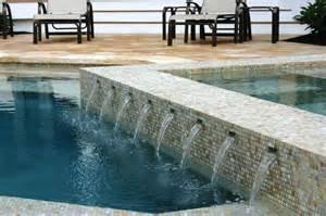 Swimming Glass Pool Tile Designs