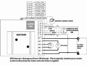 Curtis 1505 Speed Controller Specifications