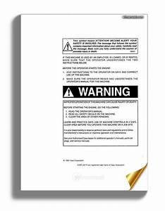 Case Forklift C Series Operators Manual