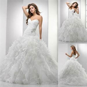 sweetheart princess ball gown floor length horsehair With drop waist ball gown wedding dress