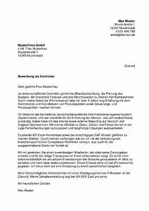 Bewerbung Online Anschreiben : muster anschreiben controlling ~ Yasmunasinghe.com Haus und Dekorationen