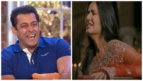 salman khan laughed   girlfriend katrina kaif