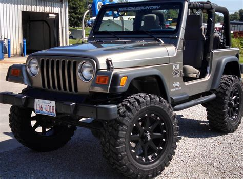 Jeep Wrangler 2003 Great Condition!!! In Wirth's Garage