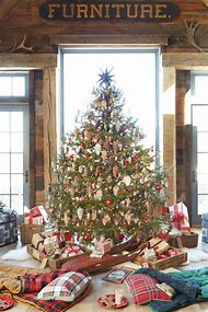 country christmas tree decorating ideas - Country Christmas Tree Decorating Ideas