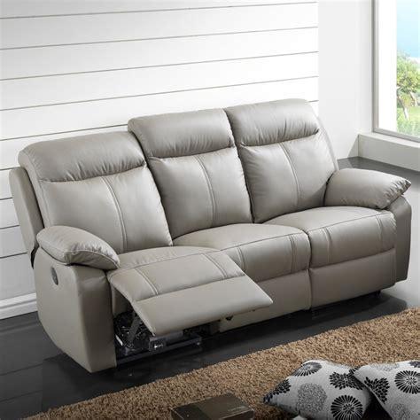 canapé relaxe canapé relax électrique 3 places cuir vyctoire univers
