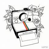 Dibujos Polaroid Drawing Drawings Dessin Simple Camera Bonitos Simples Camara Tattoo Dibujo Desenhos Sencillos Blackwork Pencil Dibujar Flash Zeichnung Fotoos sketch template