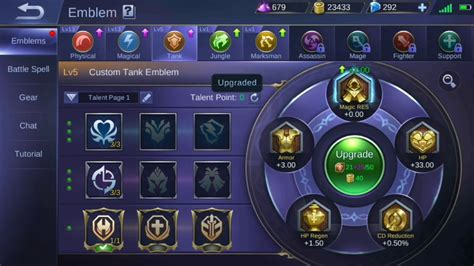 New Emblem System Guide, Mobile Legends.