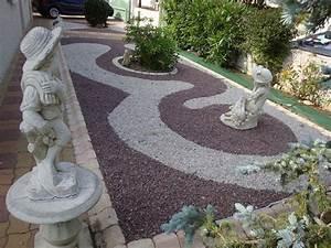decoration jardin avec galets exemples d39amenagements With deco de jardin avec caillou