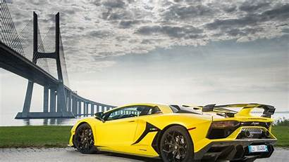 Lamborghini Svj Aventador 4k Wallpapers Rear Cars