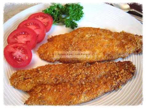 fried fish oven fried fish buttoni s low carb recipes