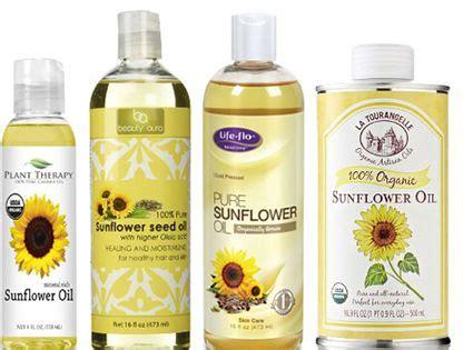 benefits  sunflower oil  hair naturallycurlycom