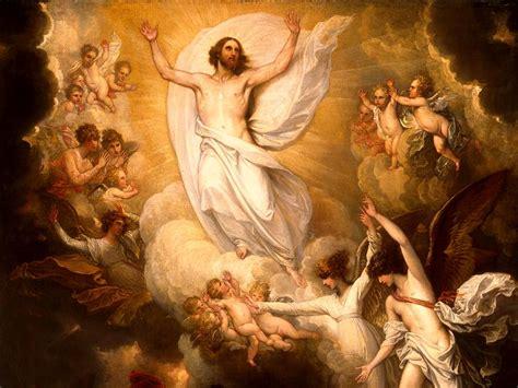 Kristus yang Naik ke Sorga dan Duduk di Sisi Kanan Allah