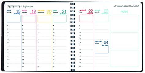 agenda de bureau synonyme agenda semainier quot polygones quot 2018 16 bureau w 4 motifs